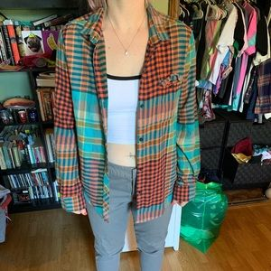 Bdg urban outfitters flannel size large